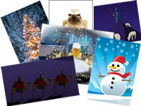 Send an Christmas card and support the World Land Trust