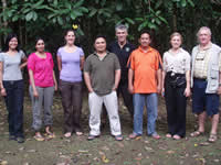 WLT and partners in Borneo