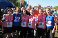 WLT Run for a Rnager Team with their medals