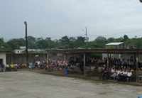 Community Meeting at Rio Canande