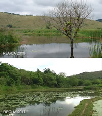 REGUA in 2006 and 2011