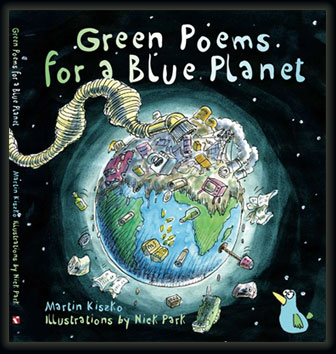 Green Poems for a Blue Planet front cover