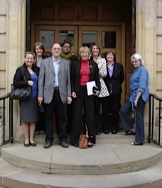 Group photograph of Wendy and colleagues from the legal department of Worcester City Council.