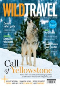 Wild Travel front cover, March 2014.