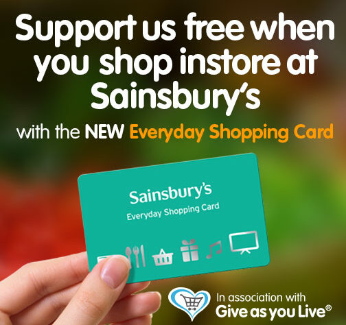 WLT Sainsbury's and Give As You Live promotion.
