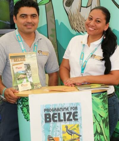 Vladimir and Therese from Programme for Belize.
