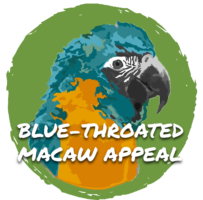 Blue-throated Macaw Appeal Logo