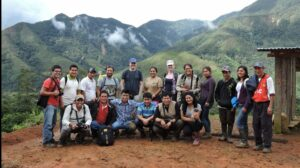Naturaleza y Cultura Peru and WLT staff with Tabaconas community members. Credit NCP