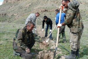 WLT's Armenian partner working with communities