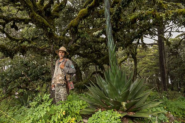 Keeper of the Wild, Miguel Flores is funded through WLT to help protect Sierra Gorda Biosphere Reserve
