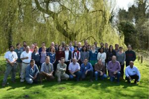 Group photo of World Land Trust staff and programme partners.