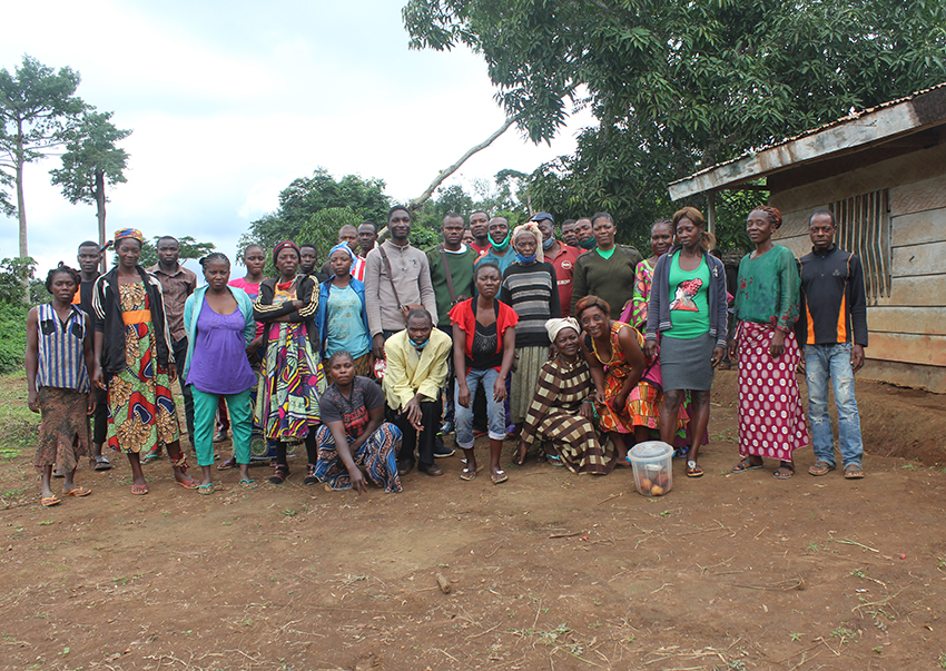 Local people in Hona Village, Cameroon