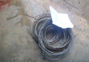 Snares removed by rangers ©Kasanka Trust